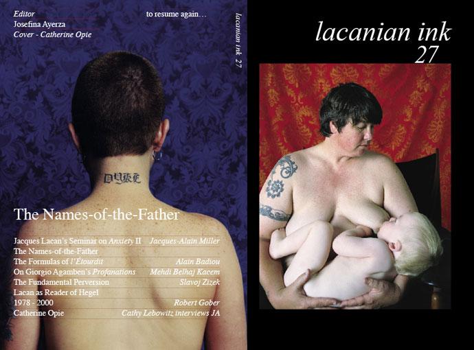 A Lacanian Ink 27. száma