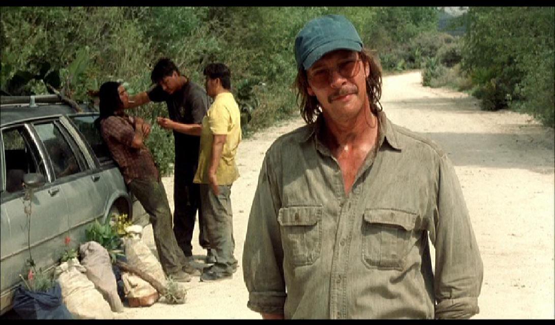 Chris Cooper – John Laroche: a film regényre épülő jelenetében (high-key megvilágítás)