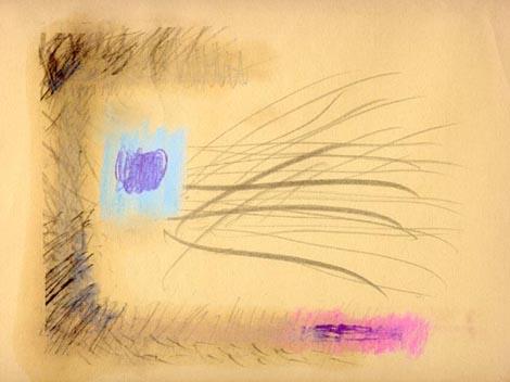 Erdély Miklós, Life sorozat, (a)1986. 23 x 30 cm, vegyes technika