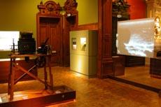 Az intézet technikatörténeti kiállítása