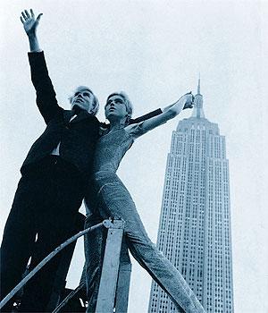 Andy Warhol felvétele az Empire State Buildingről