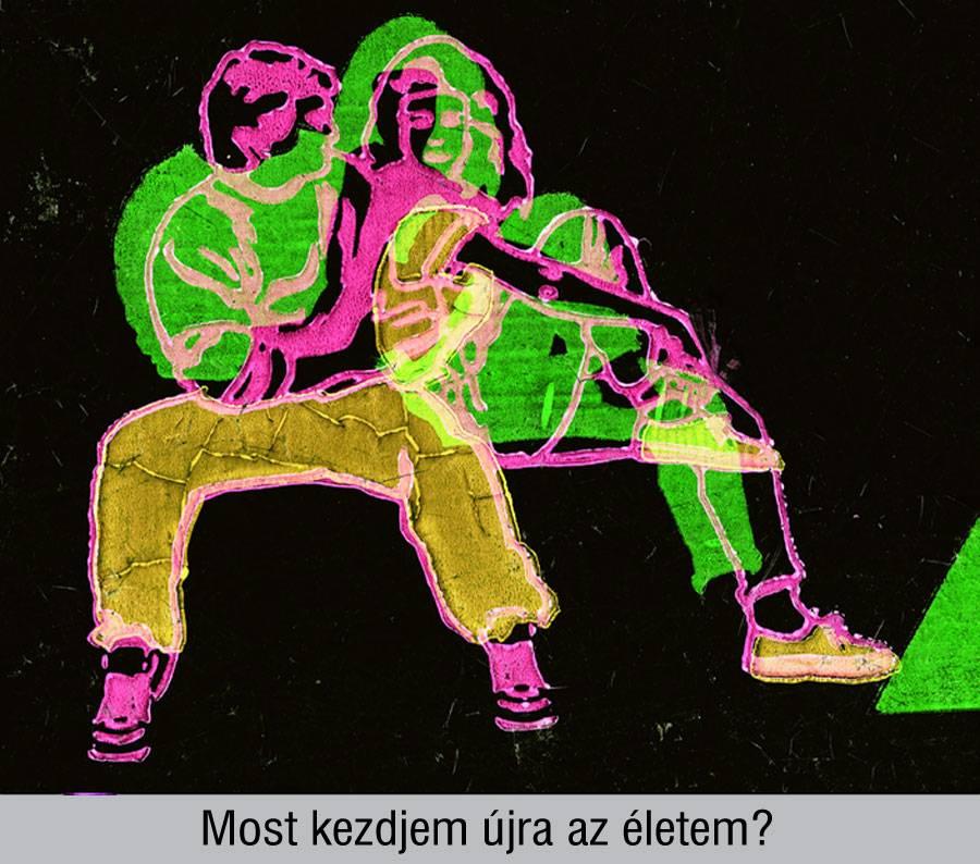 Eperjesi Ágnes: önarckép-szeletek (4), 2004.