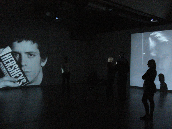 Fig 3a Screen Tests, Andy Warhol – Other Voices, Other Rooms, 12.10.07 - 13.01.08, Stedelijk Museum Amsterdam. Photos Pepita Hesselberth