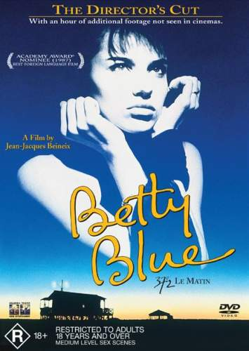 Beineix Betty Blue (37°2 le matin, Jean-Jacques Beineix, 1986) című filmjének plakátja