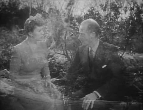 Áttetsző alakok a Topper Returns (Roy Del Ruth, 1941) című filmben.