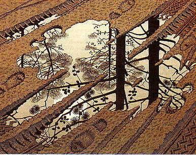 M. C. Escher: Tócsa (1952)