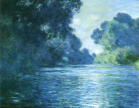 Claude Monet: Bras de Seine près de Giverny, 1897.