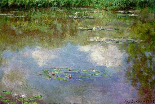 Claude Monet: Vízililiomok, 1903.
