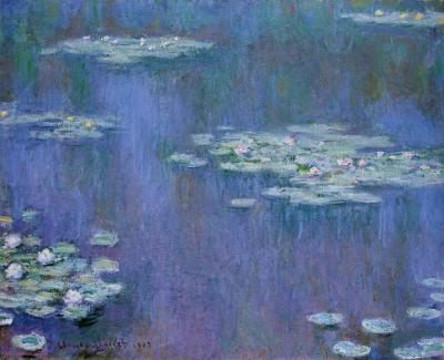 Claude Monet: Vízililiomok, 1905.