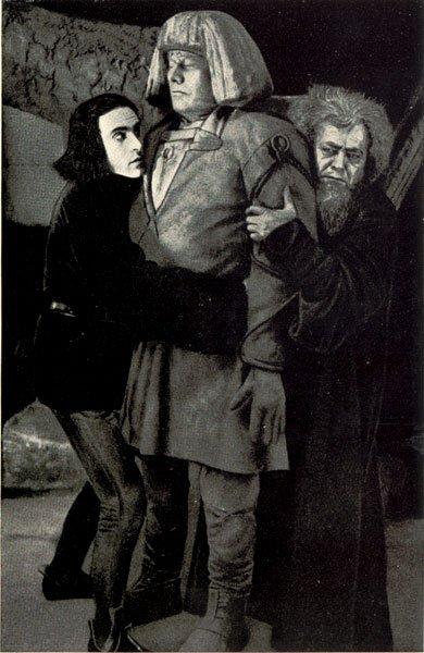 <em>A Gólem</em> (Der Golem, wie er in die Welt kam. Carl Boese, Paul Wegener, 1920)