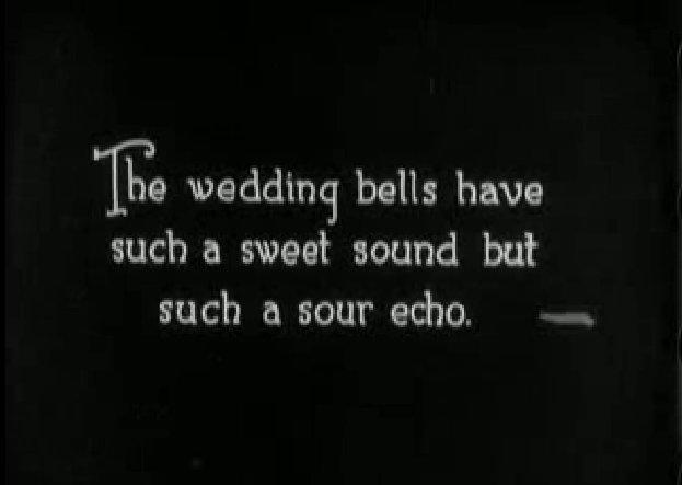 Az esküvői felirat