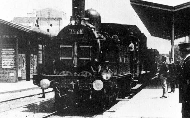 A vonat érkezése (Auguste Lumière - Louis Lumière: L'arrivée d'un train à La Ciotat, 1895)