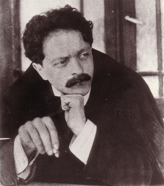 Balázs Béla, 1910. A képet a Lukács Archívum bocsátotta a rendelkezésünkre.