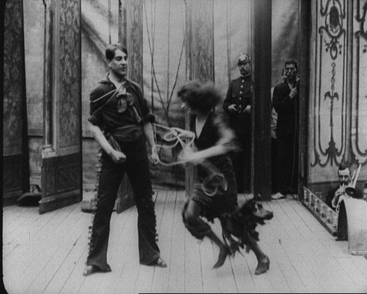 A züllés útján (Afgrunden, Urban Gad, 1910).