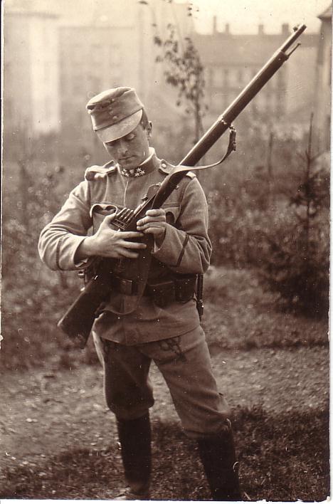 Balázs a háborúban. 1914-15. Lukács Archívum 179.