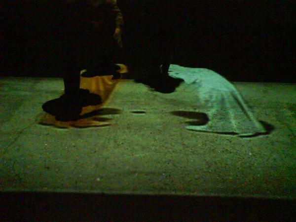 Samuel Beckett:Arena Quad I és Arena Quad II(saját felvétel)
