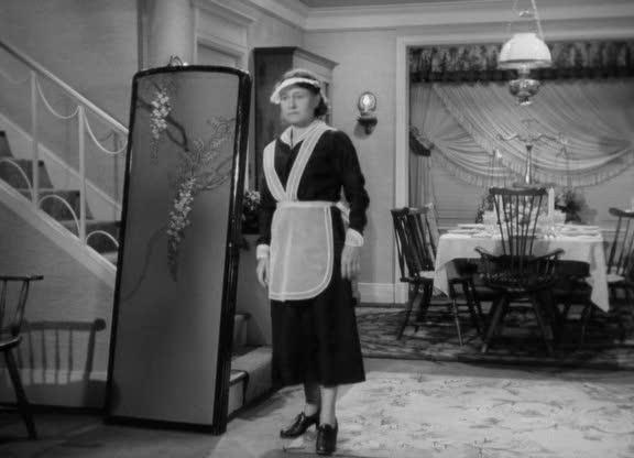 Sadie (Thelma Ritter) az <em>Egy levél három asszonynak</em> (A Letter to Three Wives, Mankiewicz, J. L. 1949) című filmben