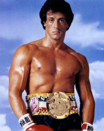 Sylvester Stallone a <em>Rocky 3</em>-ban.