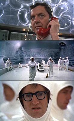 Woody Allen, mint spermium. Minden, amit tudni akartál a testről, de sosem merted megkérdezni, 1972.