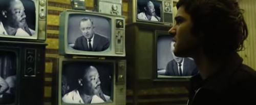 Híradó Martin Luther King meggyilkolásáról.