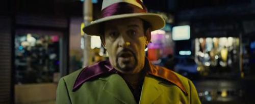 Joe Cocker a strici szerepében.
