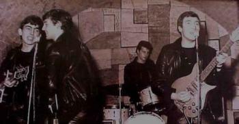 A Beatles a Cavern Club-ban (archív fotó).