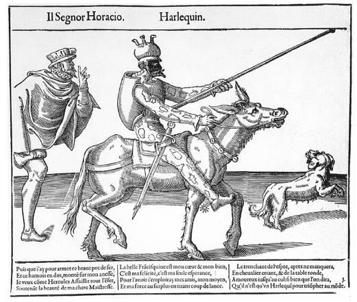 A Recueil Fossard gyűjtemény Arlecchino-ábrázolása