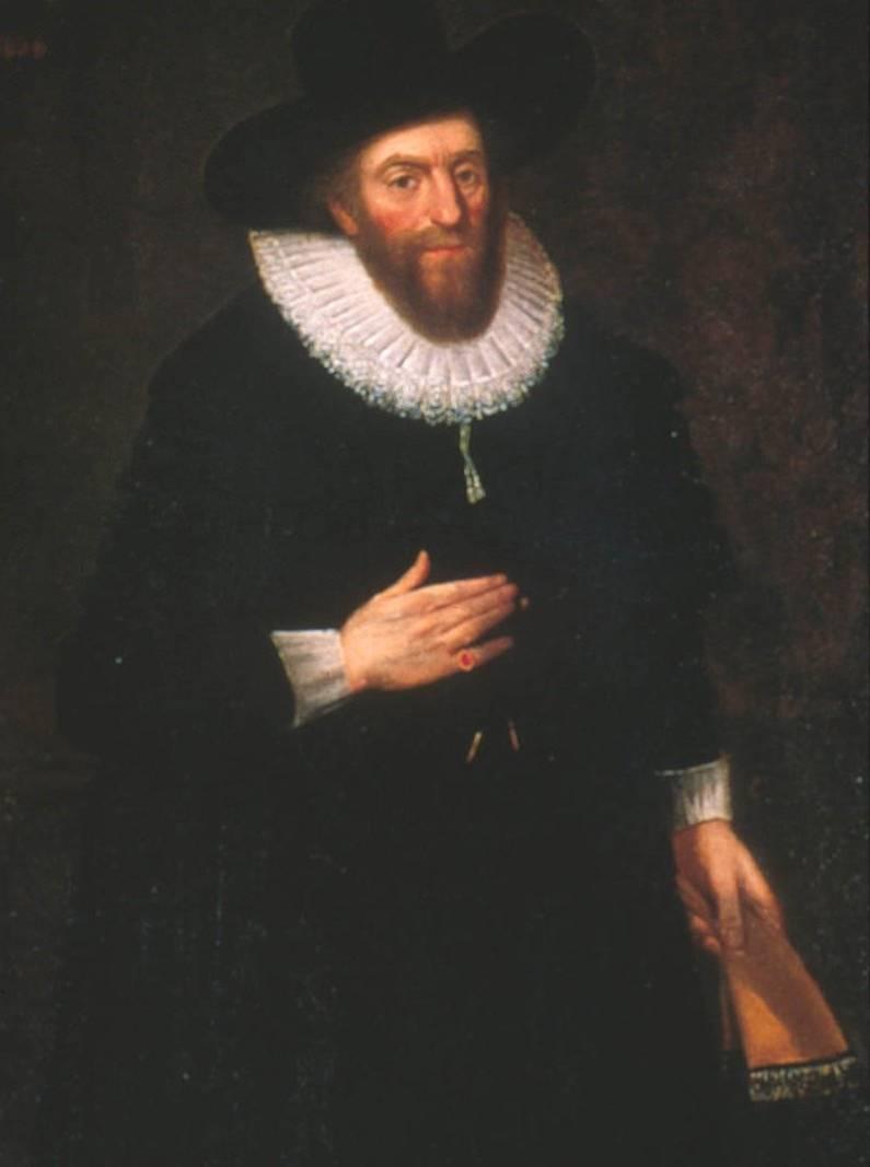 Edward Alleyn a Dulwich Picture Gallery-ben található portrén.