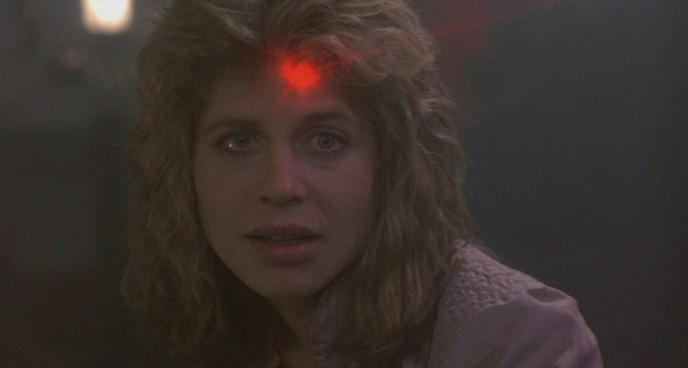 Sarah Connor (Linda Hamilton) a <em>Terminátor - A halálosztó</em>ban (The Terminator. James Cameron, 1984)