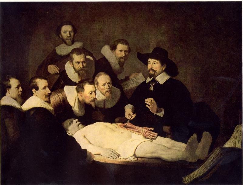 Rembrandt: Tulp doktor anatómia órája