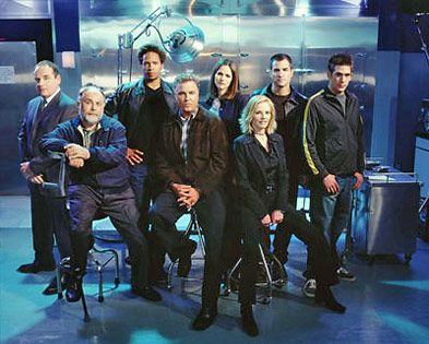 A CSI csapata