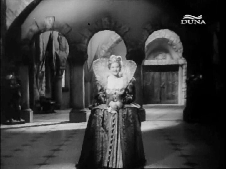 Estella mint Medici Katalin (Keleti Márton: Beszterce ostroma, 1948)