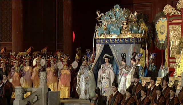 A Turandot pekingi előadása a Tiltott Városban