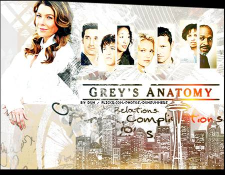 An example of the mediatized anatomy vogue - one of the most popular hospital soap operas with anatomy in its title.