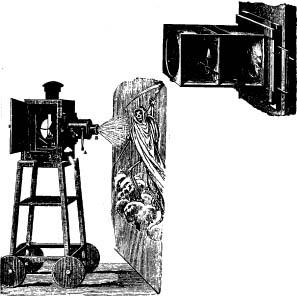 Robertson Fantoszkópja Ganot Physiques című könyvében