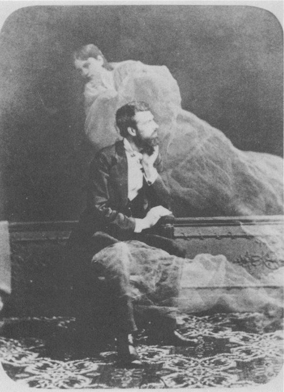 Edouard Buguet által készített szellemkép (~1870)
