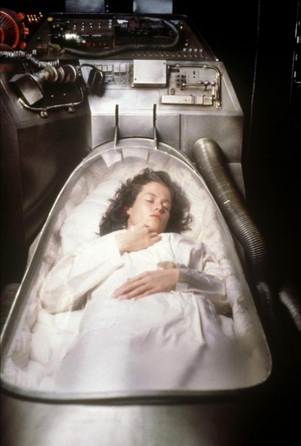 Ripley a mentőkabinban
