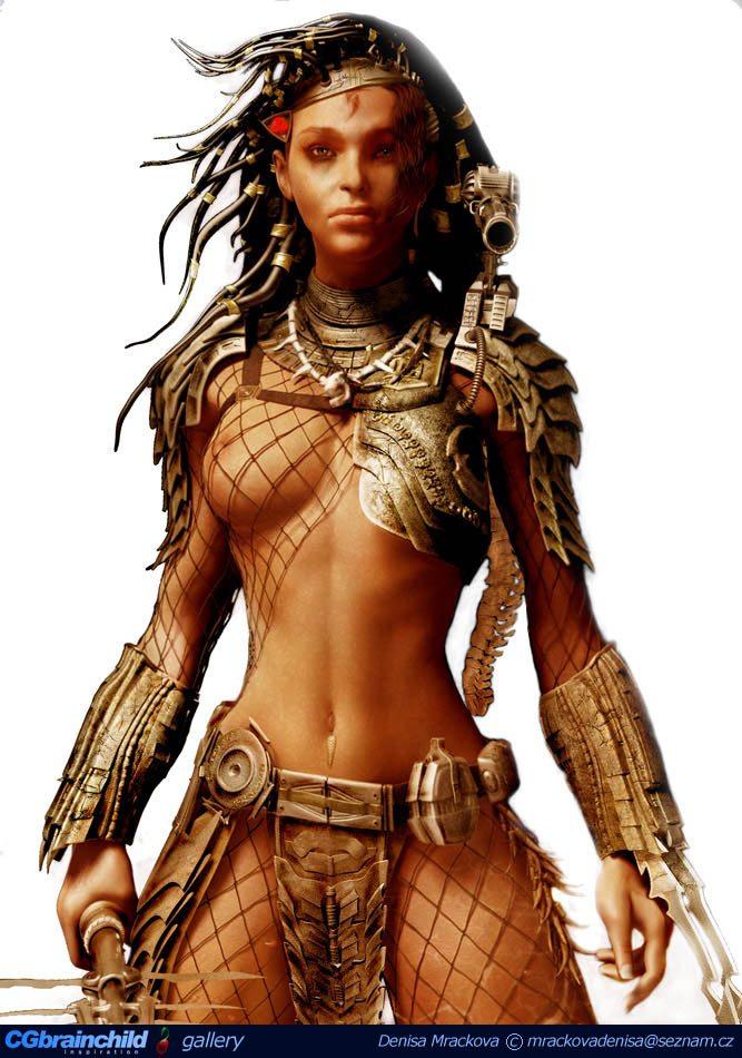 Alexa Woods (Sanaa Lathan) mint predátor
