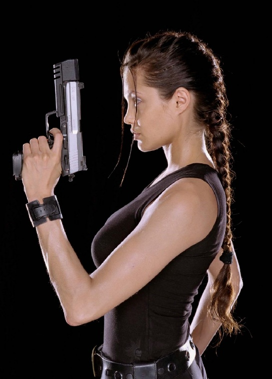 Lara Croft (Angelina Jolie)