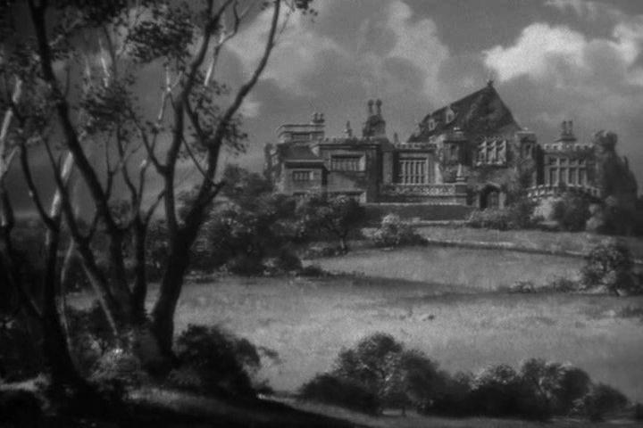 A Talbot-kastély 1941-ben