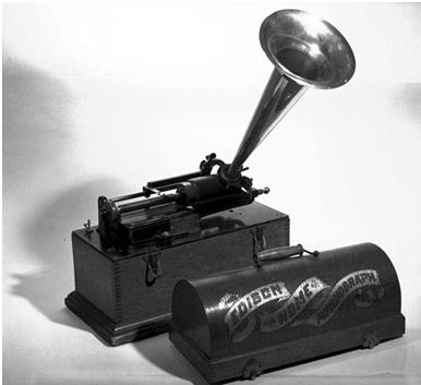 Az Edison-féle hengeres fonográf