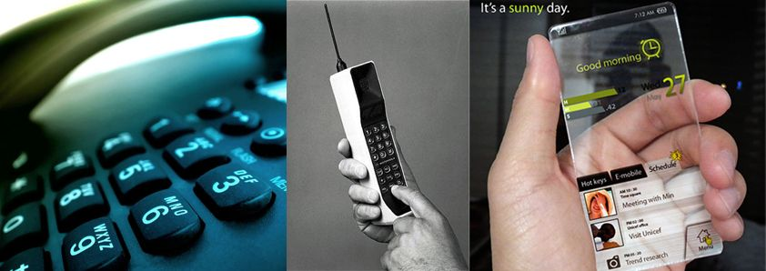 "A ""modern"" telefon"