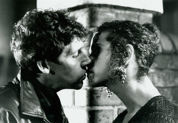 Fergus és Dil csókja