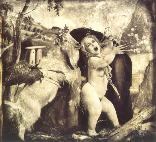 Joel Peter Witkin: Daphne and Apollo, 1990.