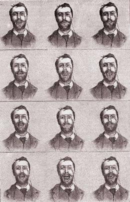 """Georges Demeny """"beszélő fotográfiái"""" (La Nature, 1892. szeptember 1.)"""