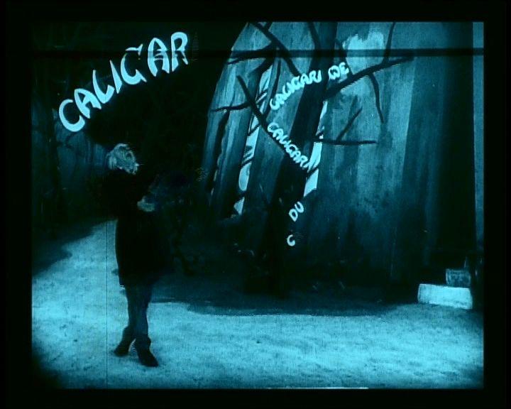 Dr. Caligari (Das Cabinet des dr. Caligari. Robert Wiene, 1920)