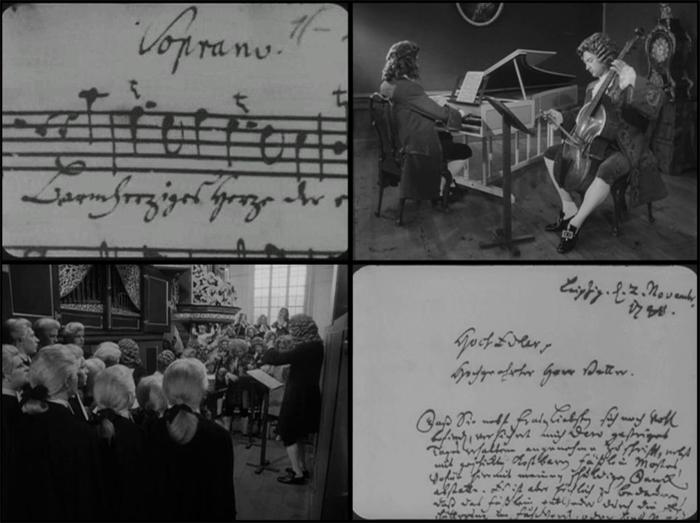 Anna Magdaléna Bach története (Chronik der Anna Magdalena Bach. Daniéle Huillet-Jean- Marie Sraub, 1968)
