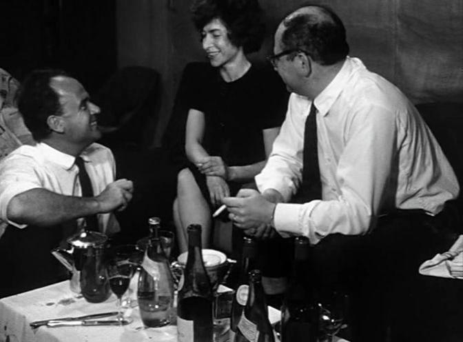 Chronique d'un été, Edgar Morin, Jean Rouch, 1961.