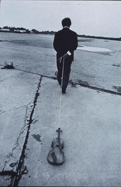 Nam June Paik: Violin to Be Dragged on the Street