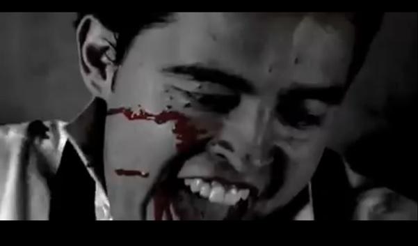 Undor és diadalittas öröm a gyilkos arcán (The Tell-Tale Heart. Robert Shovey, 2008)